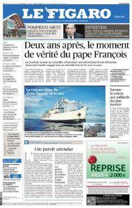 Le Figaro du vendredi 13 Mars 2015